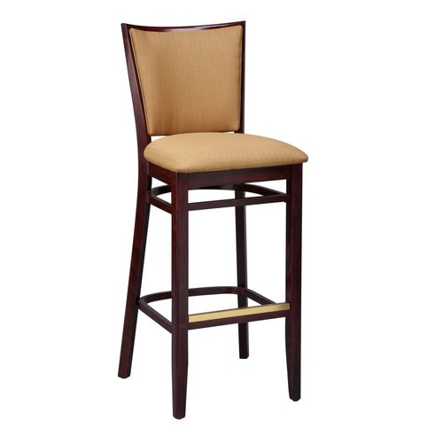 Regal Seating 2411USB Beechwood Lattice Back Upholstered Seat and Back Stool