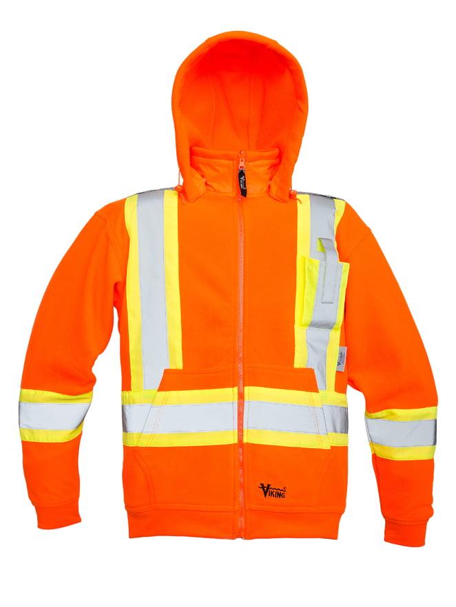Men's Safety Fleece Hoodie