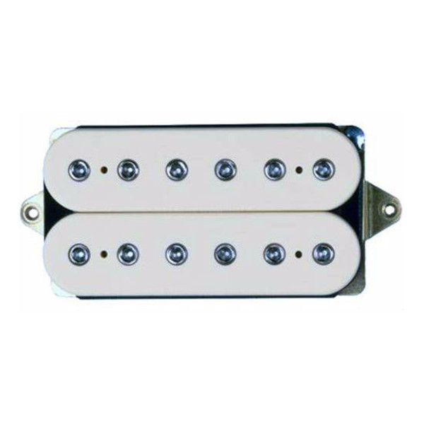 DiMarzio DP100FWH Super Distortion F Spaced Guitar Pickup in White by DiMarzio