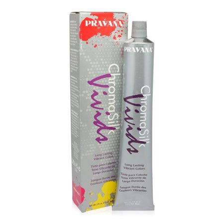 PRAVANA ChromaSilk Vivids (Magenta) 3 Fl 0z (Pravana Chromasilk Vivids Semi Permanent Hair Color)