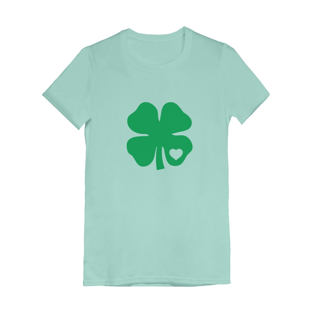 Cute St Patricks Day Shirt Kids Graphic Tee Shamrock Lips Toddler Shirt