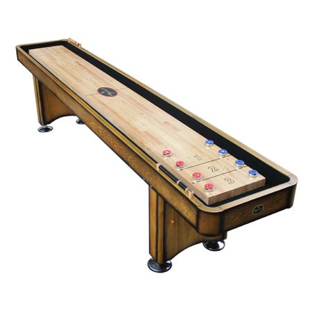 Playcraft Georgetown Honey 12' Shuffleboard Table