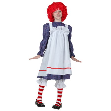 Child Rag Doll Costume - Rag Doll Tutorial Halloween