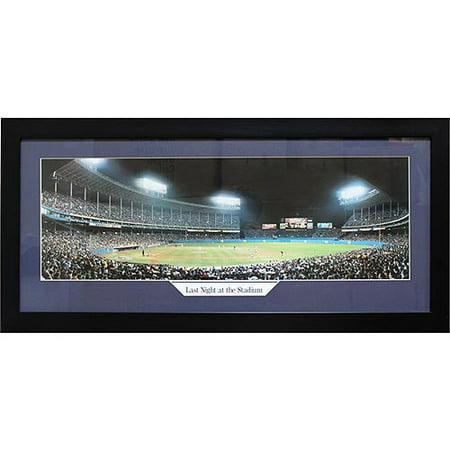 MLB Yankee Stadium Panoramic Frame, 15x35