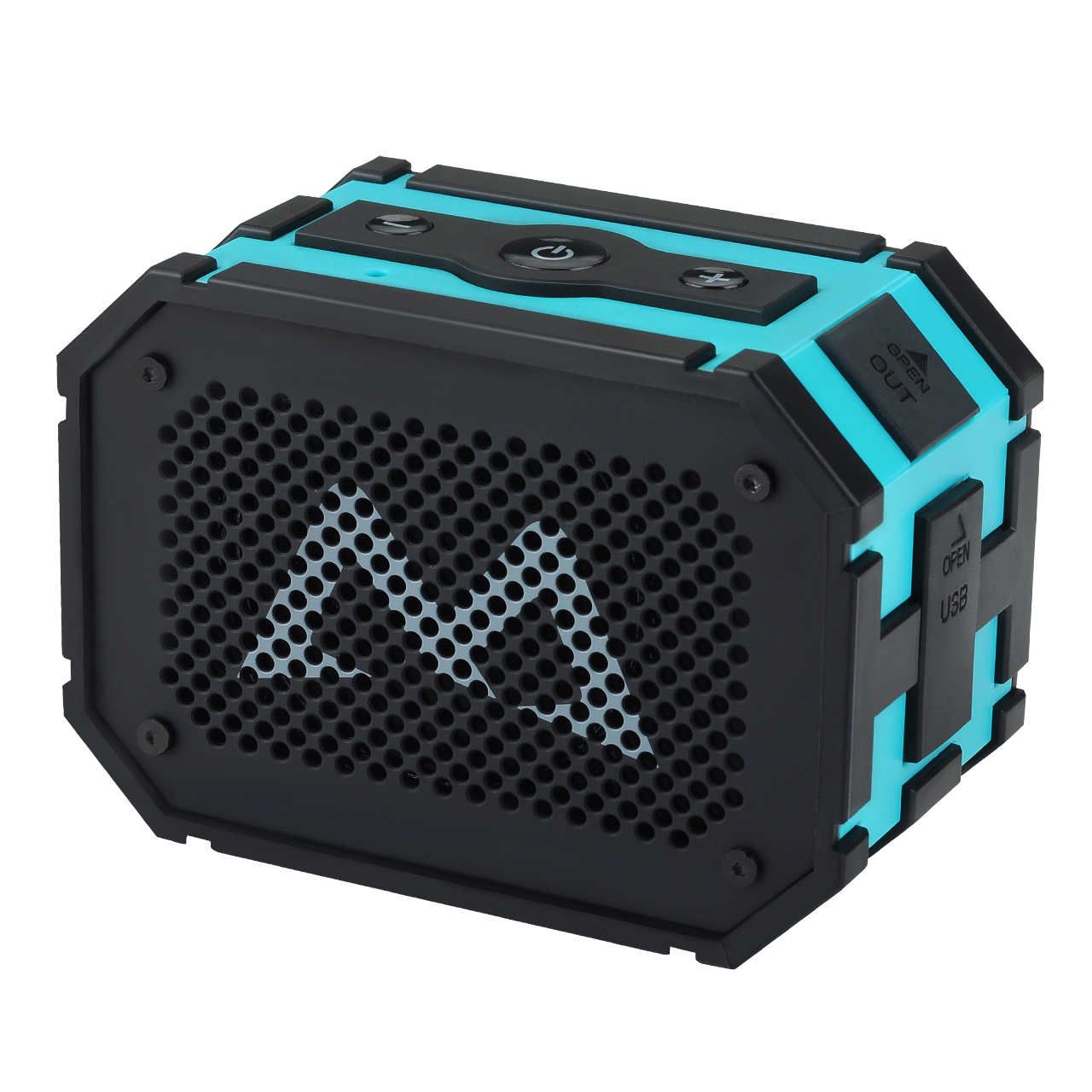 Mpow Armor Portable Wireless Bluetooth Speakers With Extral 1000 M Ah Emergency Power Bank And Splashproof Shockproof Dustproof For Outdoor / shower