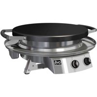 Evo Professional Series Table Top  Grill, Seasoned Steel Cooktop, Natural Gas