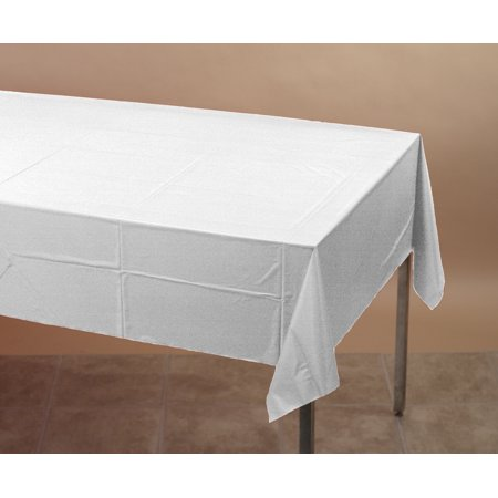 Creative Converting White Paper Tablecloth, each (Pink Paper Tablecloths)