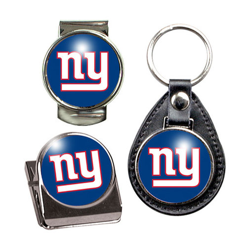 NFL - New York Giants Key Chain, Money Clip and Magnet Clip