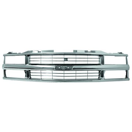 - IPCW 94-99 Chevrolet Chevy PU 94-99 Chevrolet Suburban/Tahoe Grille Custom All Chrome Dual Sealed Beam & Composite H/L Chrome CWG-GR0307K0C 1 pc