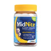 MidNite Drug-free Sleep Aid Gummies, Cherry Flavor, 36 Count