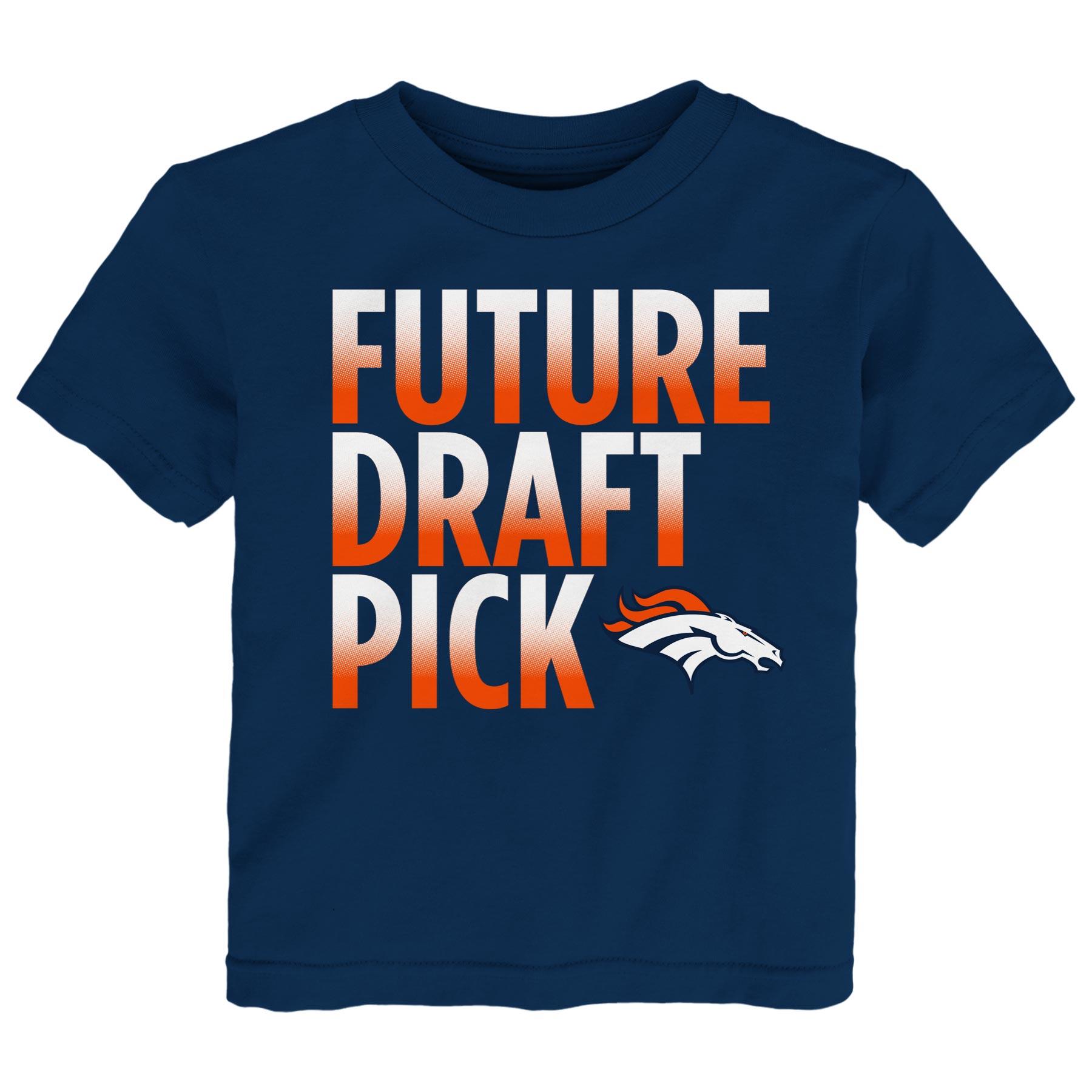 Denver Broncos Preschool Future Draft Pick T-Shirt - Navy
