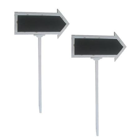 Wald Import Arrow Chalkboard - Set of 2 - Chalkboard Arrow