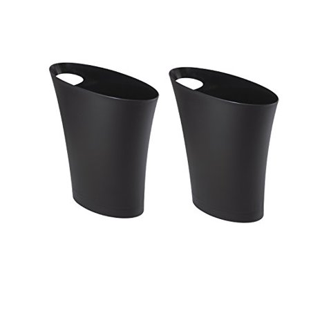 Umbra Skinny Sleek Stylish Bathroom, Modern Bathroom Wastebasket