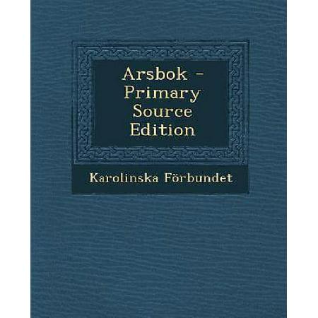 Arsbok - Primary Source Edition (Swedish Edition) - image 1 de 1