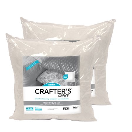 "Fairfield Crafter's Choice 20""x20"" Pillow Insert (Pack of 2)"