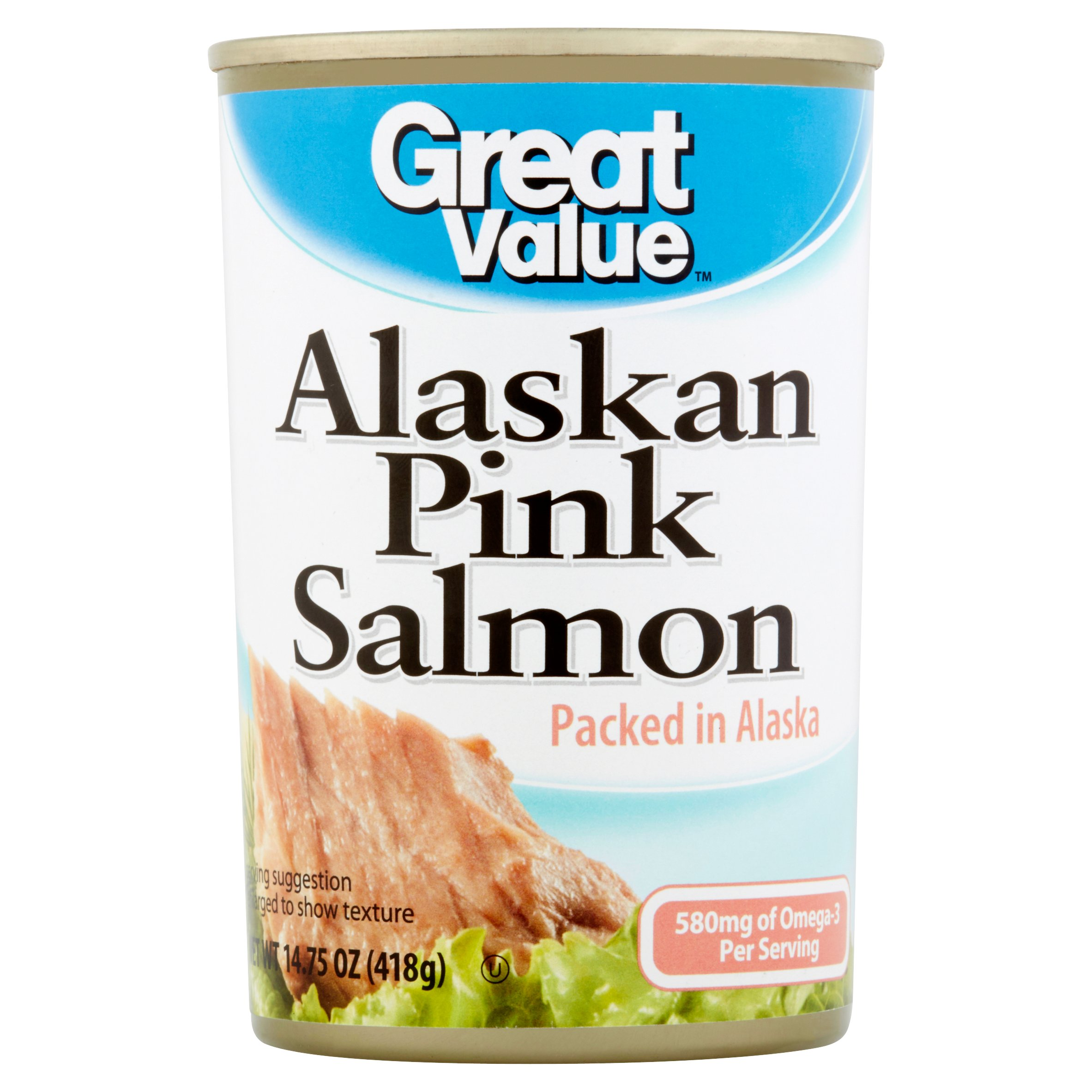 Great Value Alaskan Pink Salmon, 14.75 oz