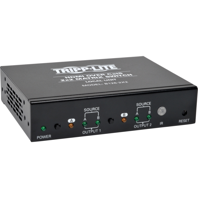 Tripp Lite B1262X2 2 x 2 HDMI over Cat5/Cat6 Matrix Split...