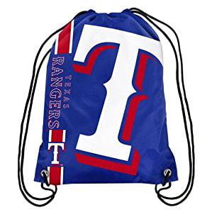 Texas Rangers Big Logo Drawstring Backpack - No Size