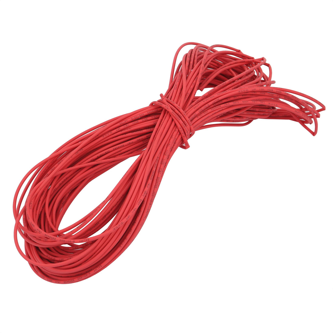 82Ft Length 1mm Inner Dia Polyolefin Insulated Heat Shrink Tube Wire Wrap
