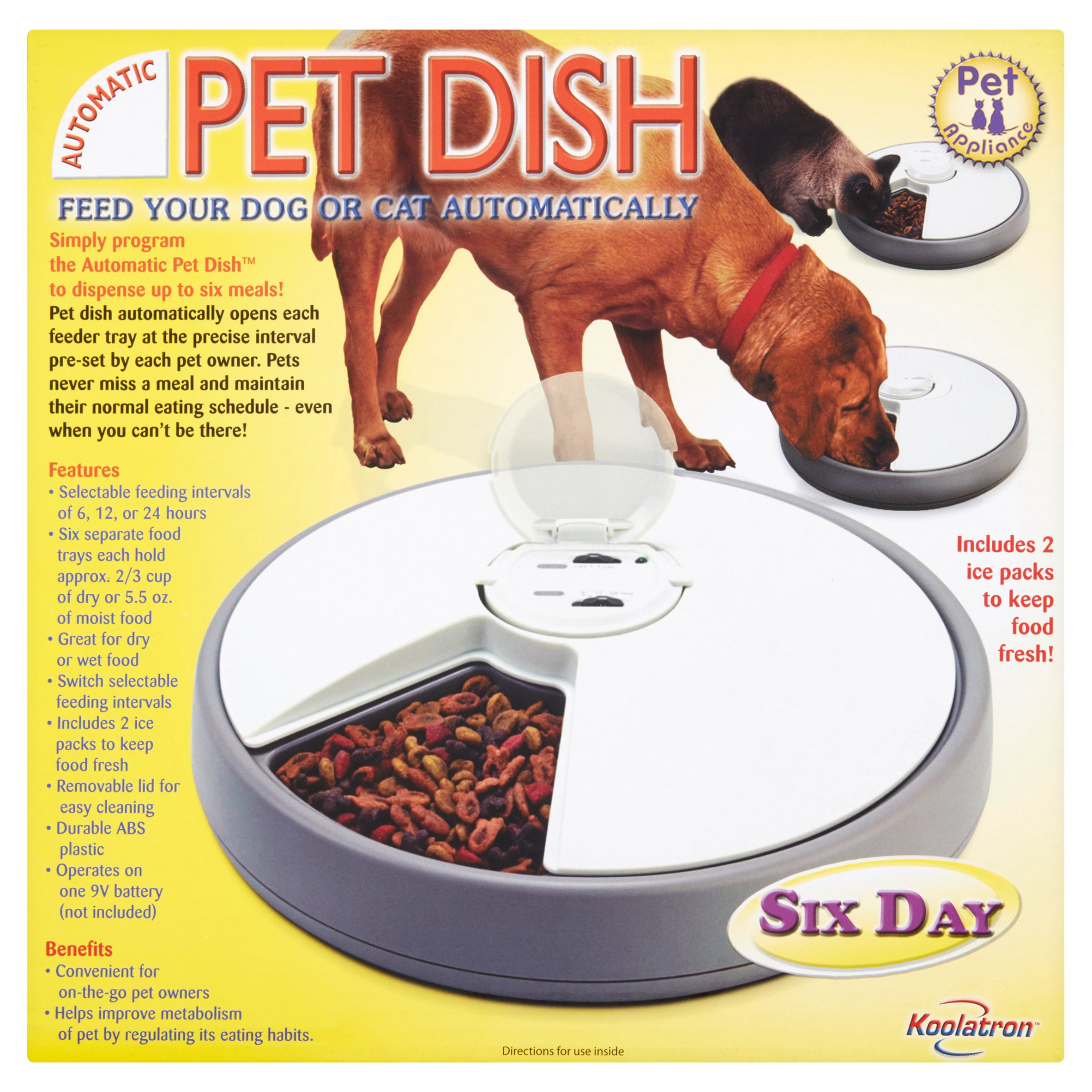 Koolatron Six Day Automatic Pet Dish   Walmart.com