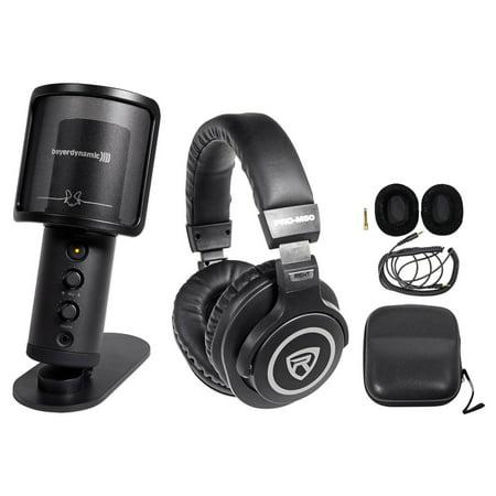 beyerdynamic fox recording usb podcast microphone mic stand studio headphones. Black Bedroom Furniture Sets. Home Design Ideas