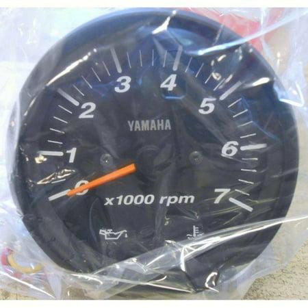 Yamaha 6Y7-83540-80-00  6Y7-83540-80-00 Pro Series II Tachometer Black; 6Y7835408000