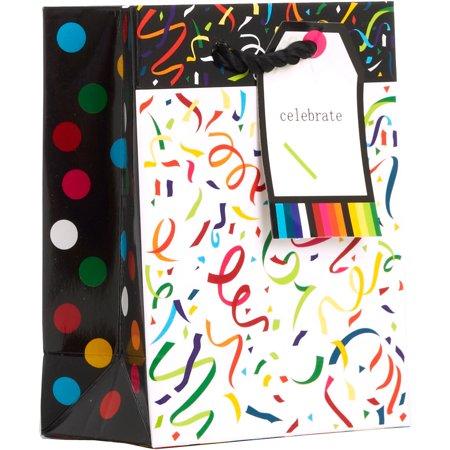 Jillson & Roberts Tiny Gift Bags, Confetti (12 Pcs)](Tiny Gift Bags)
