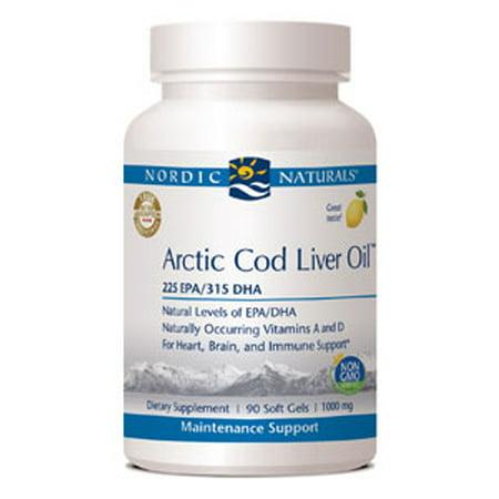 Nordic Naturals Arctic D Cod Liver Oil Reviews