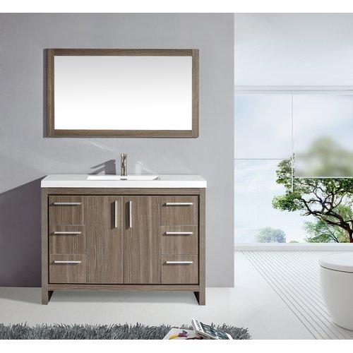 Single Sink Bathroom Vanity Set, Bathroom Vanities In Miami