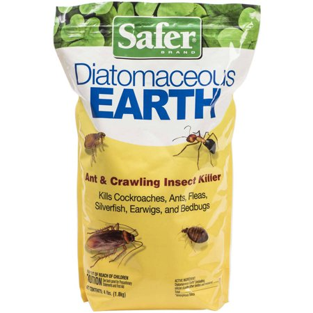 Safer Brand Diatomaceous Earth Bed Bug Flea Ant