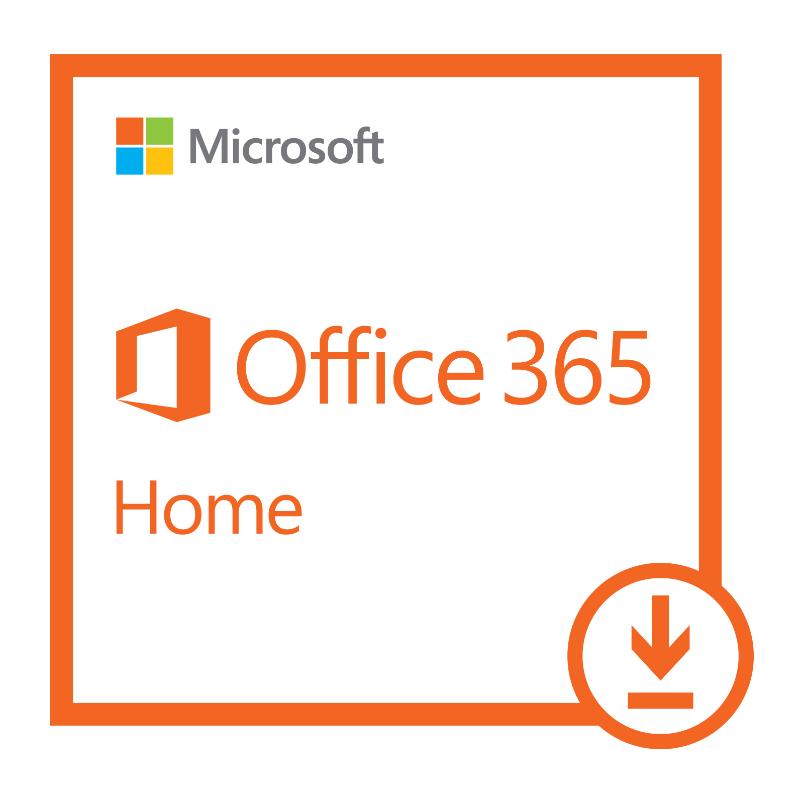 Microsoft Office 365 Home | 1-year subscription, 5 users, PC/Mac Download