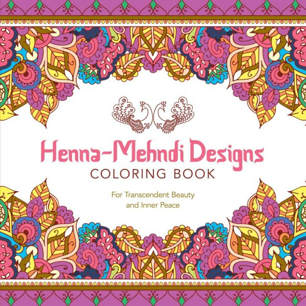 Henna-mehndi Designs Adult Coloring Book