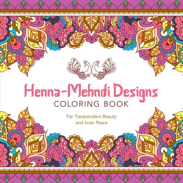 Henna-mehndi Designs Adult Coloring Book