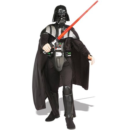 Star Wars Darth Vader Deluxe Men's Adult Halloween Costume, XL - Darth Vader Costume Replica