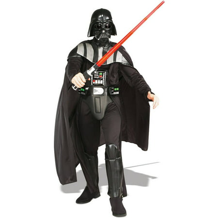 Star Wars Darth Vader Deluxe Men's Adult Halloween Costume, XL](Darth Vader Infant Costume)