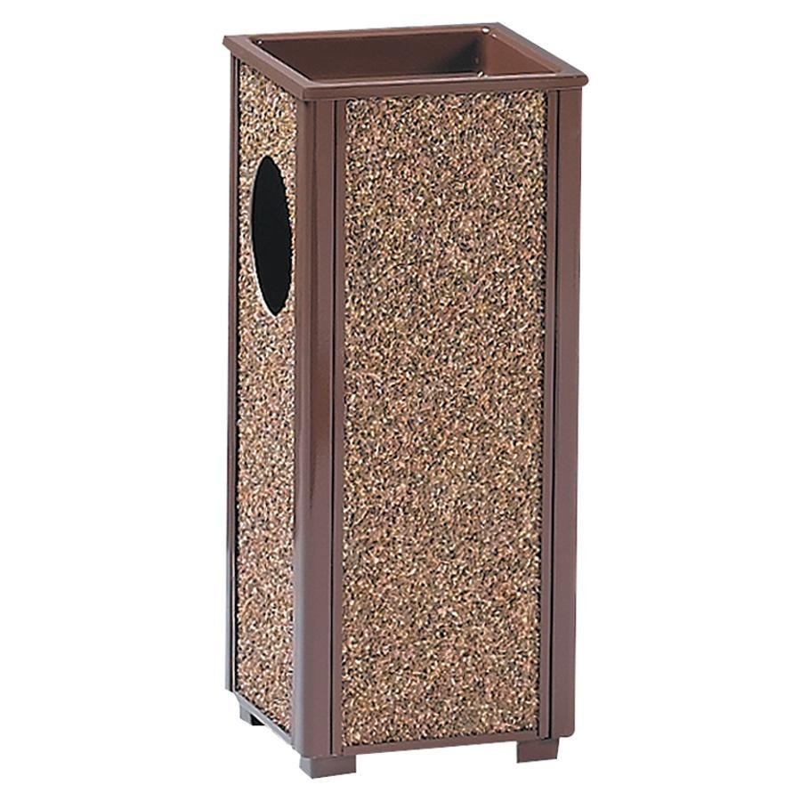 Rubbermaid Commercial Sand Urn Litter Receptacles, Brown