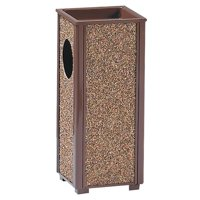 Rubbermaid Commercial, RCPR41201PL, Sand Urn Litter Receptacles, 1, Brown by Newell Rubbermaid, Inc