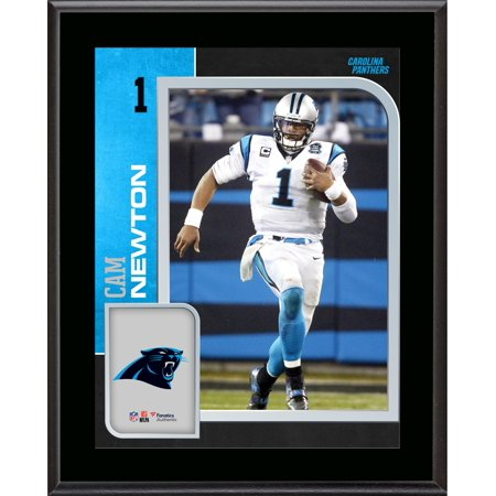 Cam Newton Carolina Panthers 10.5'' x 13'' Sublimated Player