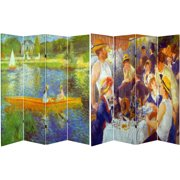 6 Tall Double Sided Works of Renoir