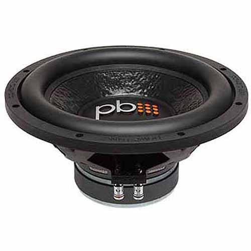 Powerbass M-1204 750W 12? Single 4-Ohm M Series Subwoofer