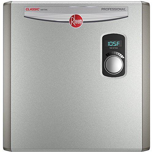 RHEEM RTEX-24 24kW Electric Tankless Water Heater 240V Ex...