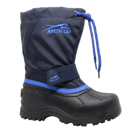 (Arctic Cat Boys' Winter Snow Boot - Temperature Rated)
