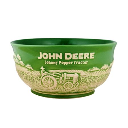 Popcorn Wrappers (John Deere Large Popcorn Bowl, John Deere popcorn bowl with a raised relief farm scene wrapped around the exterior of the bowl By JohnDeere )