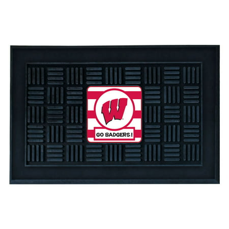 University of Wisconsin Southern Style Vinyl Door Mat](Halloween University Of Wisconsin)