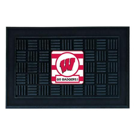 University of Wisconsin Southern Style Vinyl Door Mat](Halloween University Of Wisconsin)