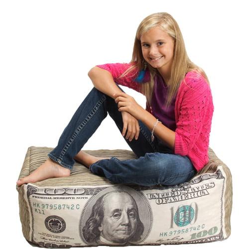Wow Works Kid's Money Bean Bag Chair