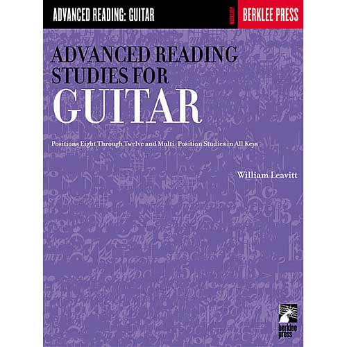 Advanced Reading Studies for Guitar by