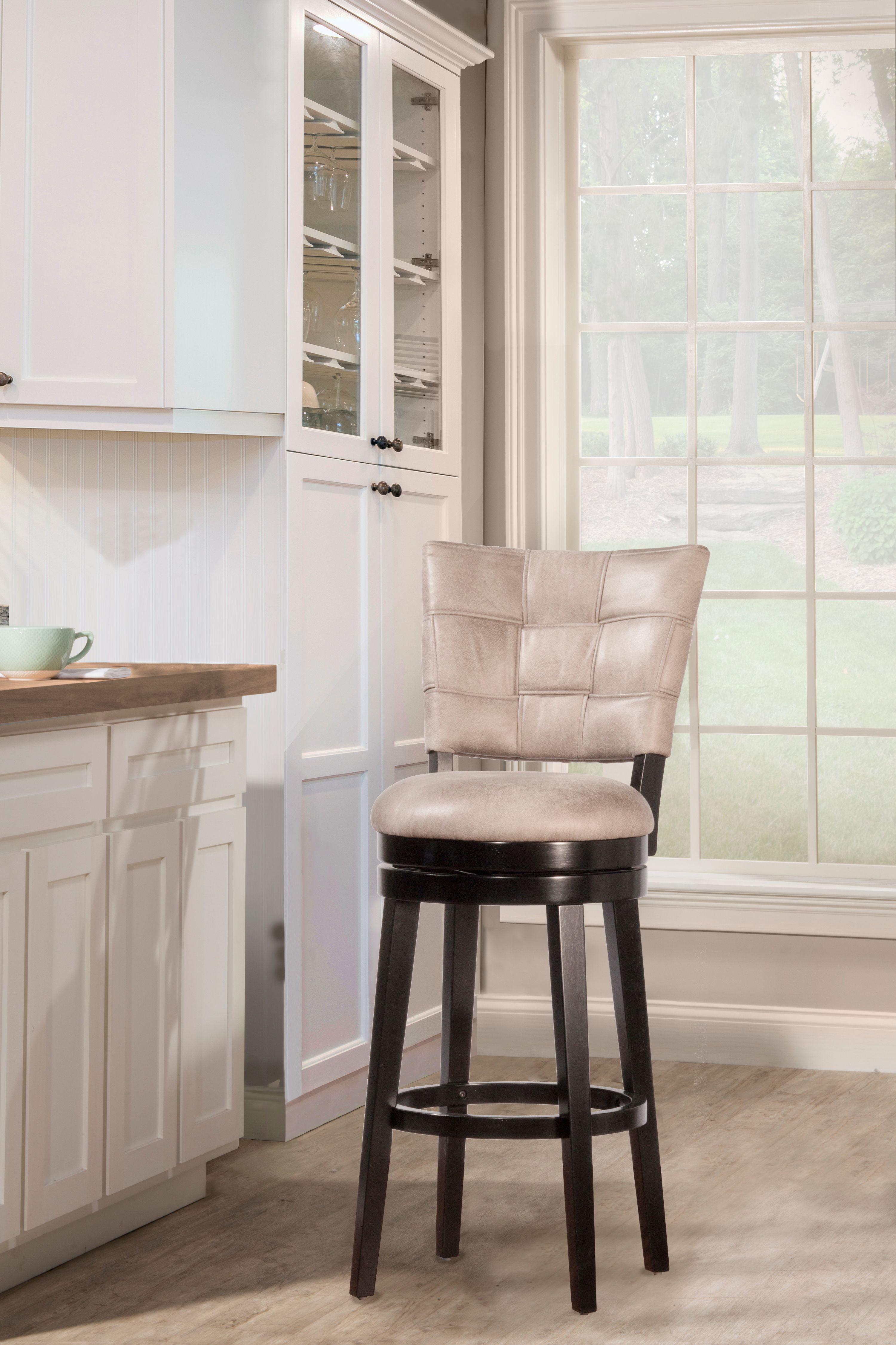 Hillsdale Furniture Kaede Swivel Counter Stool Walmart Com