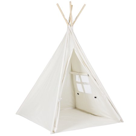 Moaere Love Tree Teepee Tent Kids Children Play Tent Cotton Canvas Portable Playhouse for Indoor Outdoor (Treehouses For Kids)