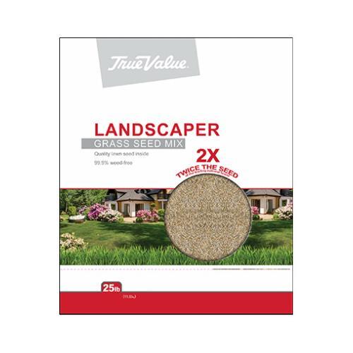 Barenbrug Usa TVLAND25 Landscaper Grass Seed Mix, 25-Lbs.